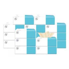 简舍竹浆本色抽纸16包装/箱JS-2325纸巾