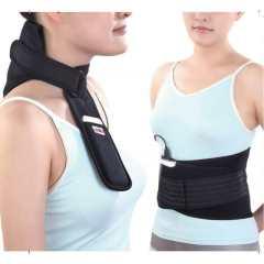 便携式低压热敷保暖护腰护颈+护膝护肩组合