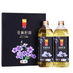 中粮悦润亚麻籽油礼盒