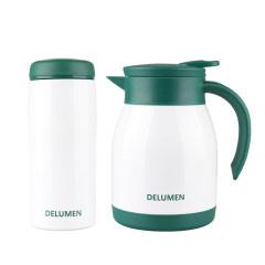 德鲁曼卡恩杯壶套装(绿色)