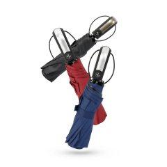 全自动三折雨伞折叠男女商务伞晴雨伞遮阳伞深红深蓝黑色随机发
