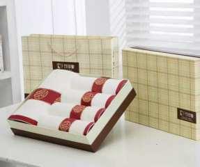 竹纤维五福毛巾浴巾系列组合多项组合可选 五福毛巾2条装 33*75cm