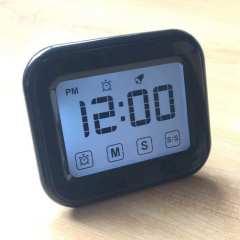 LED触摸屏智能彩色小闹钟