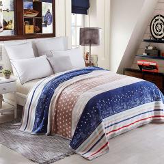 北极绒 美式风情法莱绒毯BJR-TZ1604 180×200cm