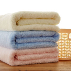 中粮出品--简沃长绒棉加厚儿童浴巾颜色/随机(A类)70*145cm正品!包邮!