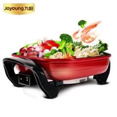 Joyoung/ 九阳 电热锅电火锅多功能家用大容量电炖锅多用途锅JK-45H01红色 红色 4.5