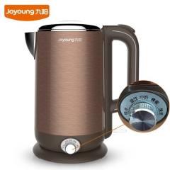Joyoung/九阳 K17-W6电热水壶304食品级不锈钢家用控温烧开水煲 咖啡色 1.7L  保