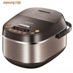 九阳(Joyoung)电饭煲电饭锅 5L大容量 土灶原釜 智能预约F-50FZ810 咖色 适合人数