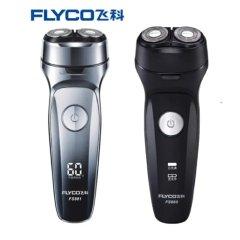 飞科(FLYCO)剃须刀电动刮胡刀全身水洗男士智能充电式剃胡须刀FS880新款 标配黑色