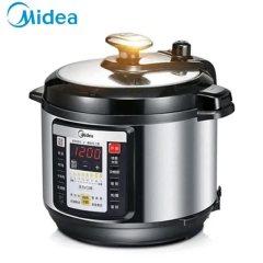 美的(Midea) 电压力锅高压锅电压力煲双胆6L大容量智能高压饭煲PCS6001P