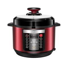 美的(Midea)电压力锅家用5L智能全自动双胆高压锅电饭煲多功能12小时预约 YL50V103