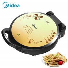 美的(Midea)电饼铛 双面加热悬浮加深多功能电饼铛 家用电烙饼锅煎烤机JHN34Q