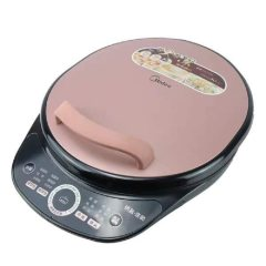 美的(Midea) 电饼铛双面加热多功能加深款煎烤机 MC-JS3401 智能版