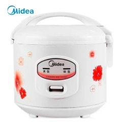美的(Midea)电饭煲 机械式家用 4L 大容量电饭锅 操作简便 YJ408J