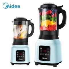 美的(Midea)破壁机家用破壁料理机 榨汁机辅食机 可预约豆浆机果汁机PB12Easy217 薄荷
