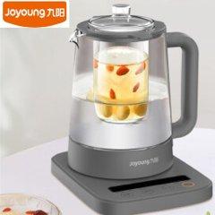九阳(Joyoung)养生壶1.5L家用电水壶热水壶烧水壶电热水壶玻璃花茶壶 K15-D11S 灰色