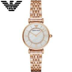阿玛尼(Emporio Armani)女士手表满天星女士手表简约流行时尚休闲石英女士腕表AR1909