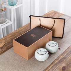 正宗特级正山小种红茶茶叶送礼陶瓷礼盒装 250g*2罐