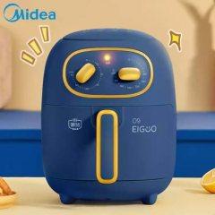 美的(Midea)空气炸锅家用捣蛋鬼新款多功能智能电炸锅全自动无油炸薯条机KZ30206L 美的新款