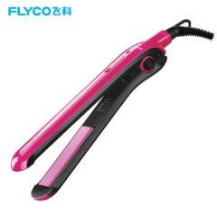 飞科(FLYCO) FH6811卷发棒 卷直两用夹板 直发器烫发器卷发器 玫红色