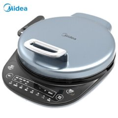 美的(Midea)JS3406电饼铛双面悬浮加热34CM大口径可拆洗多功能家用速脆技术煎烤机