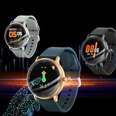 (富连网体验店自提)H2U智能手环 全触控智能体温手表T9
