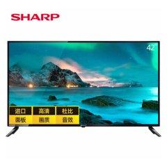 夏普(SHARP)42M3RA 42英寸 全高清 日本原装面板 智能UI 智能WIFI网络液晶电视