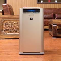 Sharp夏普空气净化器家用加湿除甲醛雾霾烟尘定向杀菌KC-GG50-N