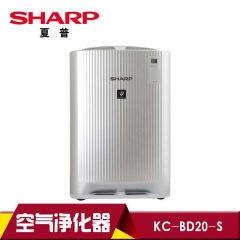 夏普(SHARP )家用型 空气净化器KC-BD20-S除甲醛 PM2.5 加湿 带滚轮