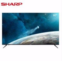 夏普(SHARP) 60B3RZ 60英寸 4K超高清 日本原装面板 智能语音网络液晶平板电视