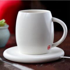 麦极客 55°马克杯无线充电 无线加热 陶瓷杯子商务杯