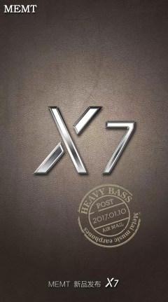MEMT X7 全金属耳机
