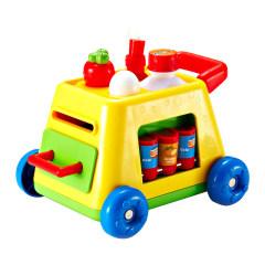 Auby/澳贝手指总动员婴儿手眼协调听音乐认数字辨颜色锻炼早教玩具