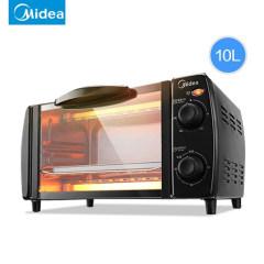 Midea/美的T1-L108B多功能电烤箱家用烘焙小烤箱控温迷你蛋糕正品