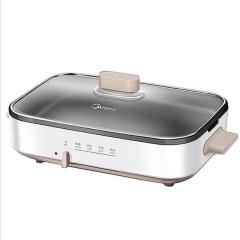 美的DY3020Power101多功能锅料理锅烤肉机烧烤炉电烤炉烧烤机一体