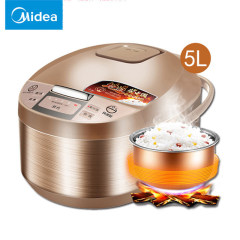 Midea/美的 MB-WRD5031A 电饭煲5L升智能家用大容量饭锅 4-6-8人