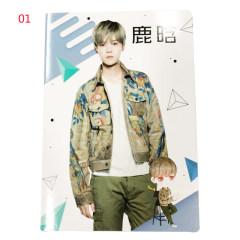 16K车线本(鹿晗) 01 【富连网漯河电商学院店自提】