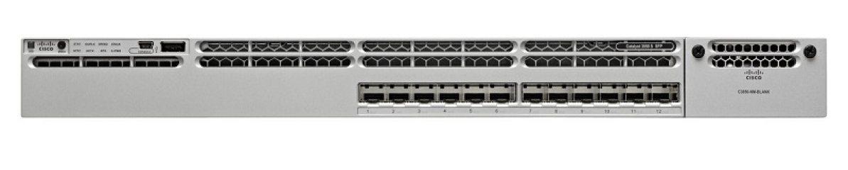 网络交换机WS-C3850-12S-S