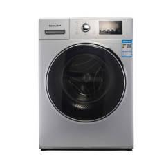 夏普(SHARP) XQG80-2748W-H 智控变频滚筒洗衣机8KG