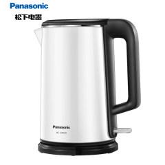 松下(Panasonic )1.5L电水壶 大功率 不锈钢内胆 双层隔热防烫 NC-CWK20W