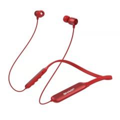 夏普HP-10蓝牙耳机无线入耳式小型便携立体挂脖式耳塞式耳机 黑色HP-10-BK