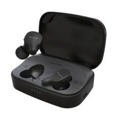 夏普HP-TW35真无线蓝牙耳机运动耳机入耳式迷你小隐形立体声耳机 黑色HP-TW35-BK