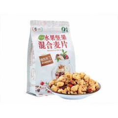 中粮良山萃水果坚果燕麦片681g每日早餐冲饮 即食干吃烤脆麦