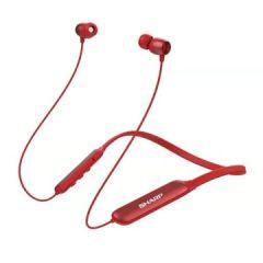 夏普HP-10蓝牙耳机无线入耳式小型便携立体挂脖式耳塞式耳机 蓝色HP-10-BL