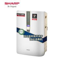 夏普(SHARP)空气净化器消毒机家用加湿卧室除甲醛净离子群杀菌除过敏原病毒KC-W380S-W1