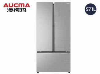 澳柯玛中式对开门风冷冰箱 BCD-571WPGXI 晶钻银