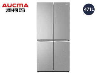 澳柯玛十字四门风冷冰箱BCD-471WPGXI晶钻银