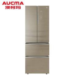 澳柯玛法式四门风冷冰箱BCD-335WPGX 星钻银