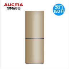 澳柯玛180L双开门冰箱 BCD-180H 炫金
