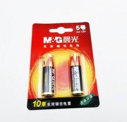 晨光无汞环保5#干电池 1.5V AA碱性电池 2粒/装 ARC92554